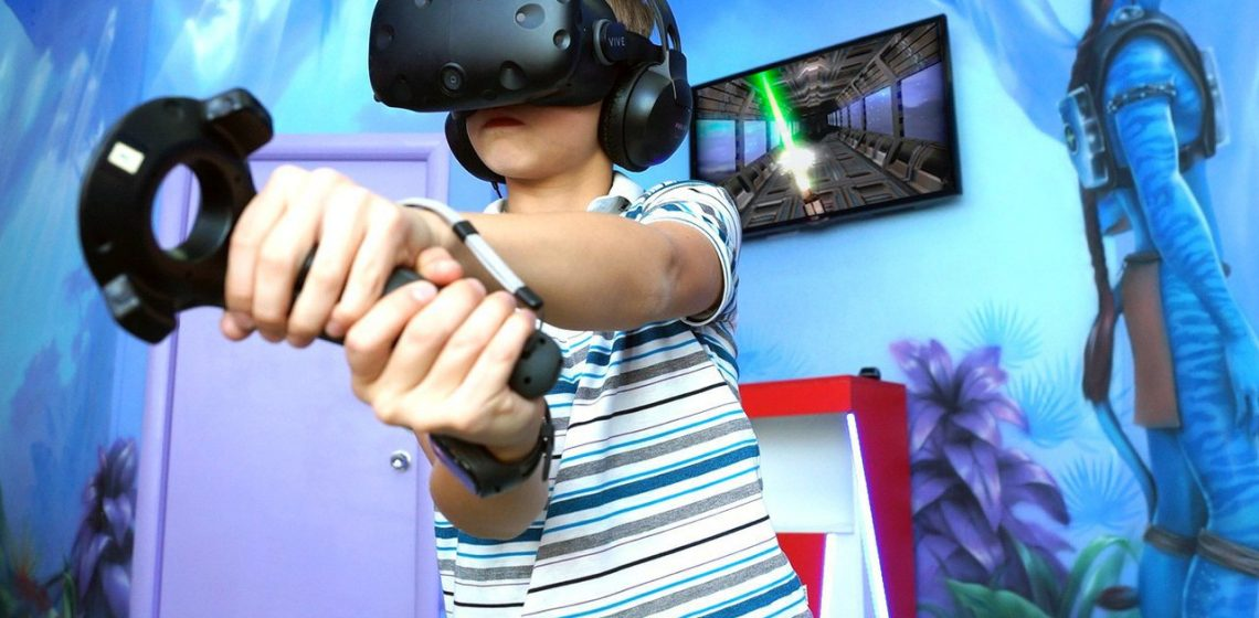Виртуальная реальность в лазертаге