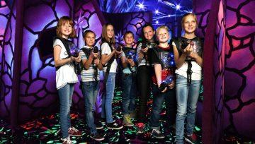 Детский лазертаг в Челябинске