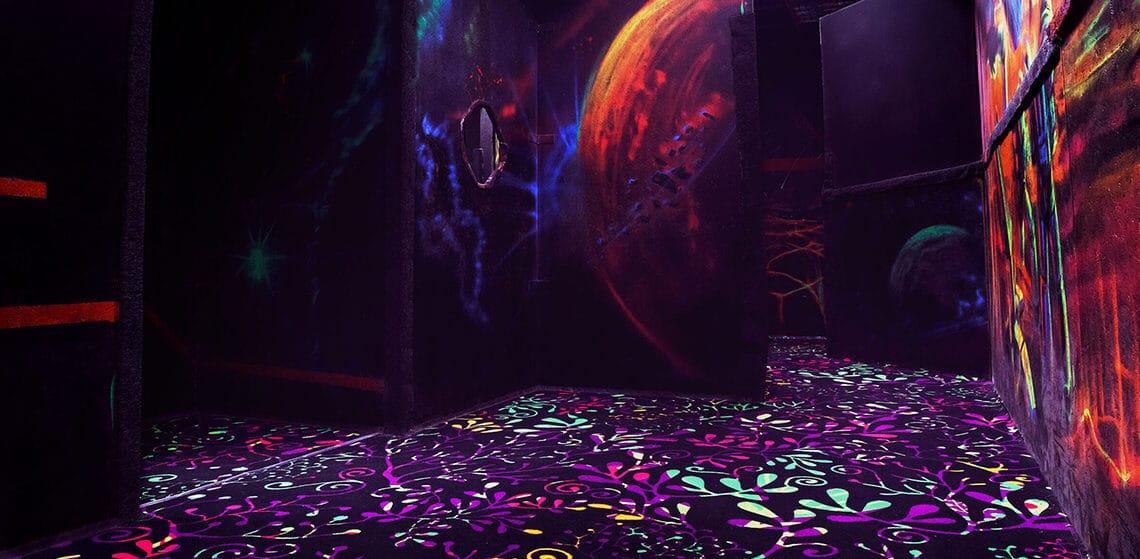 Игровой лабиринт в лазертаге