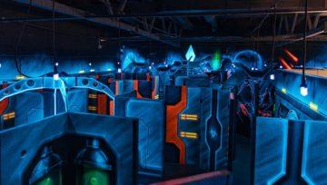 Игровой лабиринт в Лазерфорс