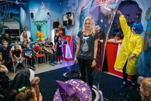 Фотография шоу мыльных пузырей в Челябинске
