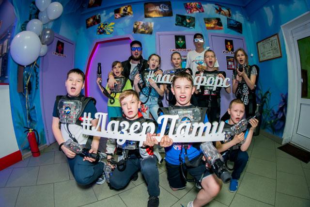 Фотогарфи акция на лазертаг в Челябинске